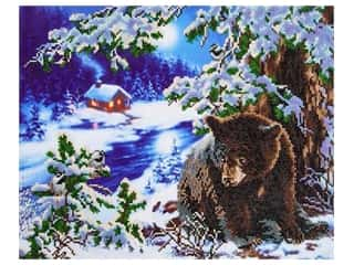 craft & hobbies: Diamond Dotz Intermediate Kit - Rambling Bear
