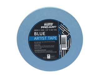 glues, adhesives & tapes: Pro Art Tape Artist .75 in. x 60 yd Blue