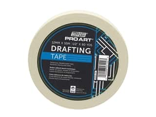 glues, adhesives & tapes: Pro Art Tape Drafting .5 in. x 60 yd