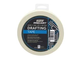 glues, adhesives & tapes: Pro Art Tape Drafting .75 in. x 36 yd