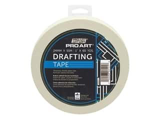 glues, adhesives & tapes: Pro Art Tape Drafting 1 in. x 36 yd