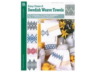 Leisure Arts Easy-Does-It Swedish Weave Towels Book