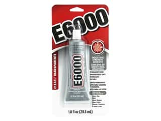 glues, adhesives & tapes: Eclectic E6000 Adhesive 1 oz. Clear