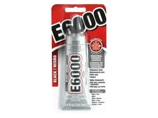 glues, adhesives & tapes: Eclectic E6000 Adhesive 2 oz. Black