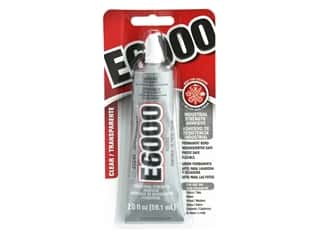 glues, adhesives & tapes: Eclectic E6000 Adhesive 2 oz. Clear