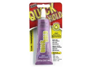 glues, adhesives & tapes: Eclectic E6000 QuickHold Adhesive 2 oz.
