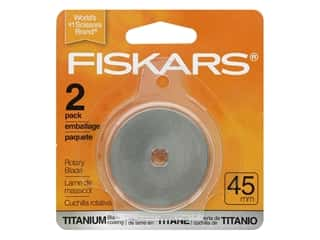 Fiskars Rotary Blade 45 mm Straight Titanium 2 pc.