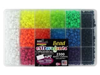The Beadery Bead Extravaganza Box Neon Brights
