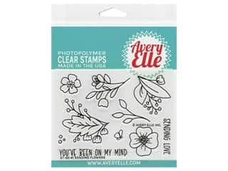 Avery Elle Clear Stamp Sending Flowers