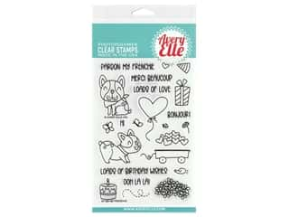 Avery Elle Clear Stamp Frenchie