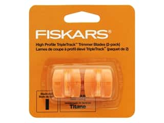 gifts & giftwrap: Fiskars Paper Trimmer Blades 2 pc. Titanium TripleTrack Style I