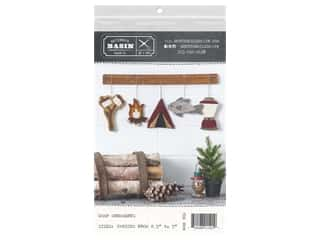 Buttermilk Basin Camp Ornaments Pattern