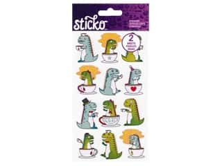 Sticko Stickers - Tea Rex