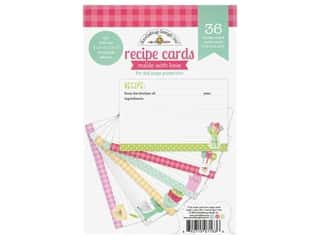 Doodlebug Collection Made With Love Recipe Cards