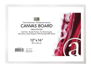 Art Advantage Canvas Board - 12 x 16 in.