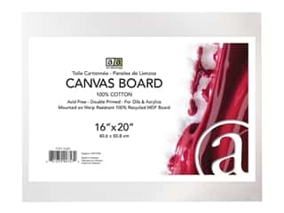 Art Advantage Canvas Board - 16 x 20 in.