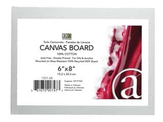 Art Advantage Canvas Board - 6 x 8 in.