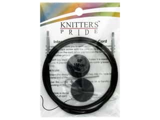Knitter's Pride Interchangeable Needle Cord Black/Sliver 60 in.