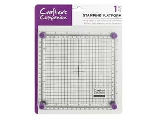 """Crafter's Companion Tools Stamping Platform 6""""x 6"""" 1pc"""