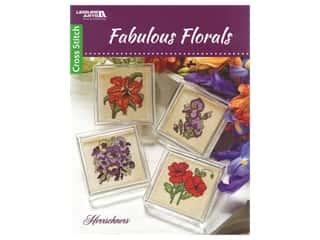 Leisure Arts Fabulous Florals Cross Stitch Book