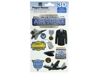 Paper House 3D Stickers - Air Force