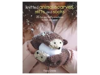 Knitted Animal Scarves Mitts & Socks Book