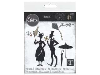 Sizzix Dies Tim Holtz Thinlits The Park