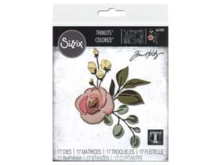 Sizzix Dies Tim Holtz Thinlits Bloom Colorize
