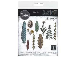 Sizzix Dies Tim Holtz Thinlits Funky Nature