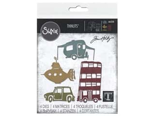 Sizzix Dies Tim Holtz Thinlits Wacky Transport #1