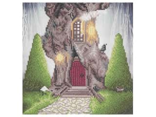 Diamond Art Kit 12 in. x 12 in. Sparkle Intermediate Gnome Home