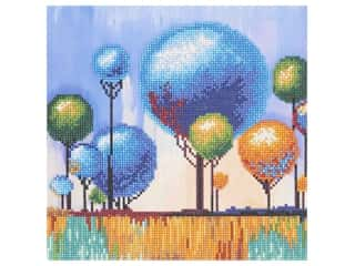 Diamond Art Kit 12 in. x 12 in. Sparkle Intermediate Lolypop Tree