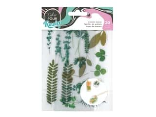 American Crafts Color Pour Resin - Acetate Leaves