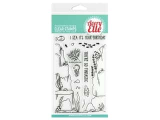 Avery Elle Clear Stamps - Underwater Background Builder