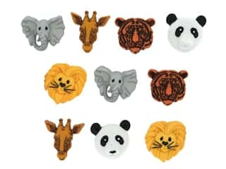 craft & hobbies: Jesse James Embellishments - Animal World