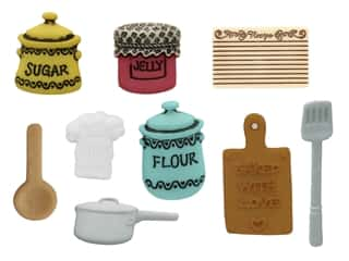 novelties: Jesse James Embellishments - In the Kitchen