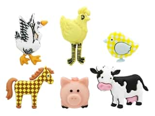 novelties: Jesse James Embellishments - Funny Farm