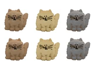 craft & hobbies: Jesse James Embellishments - Fat Cats