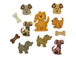 novelties: Jesse James Embellishments - Dog Days