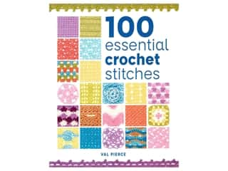 100 Essential Crochet Stitches Book