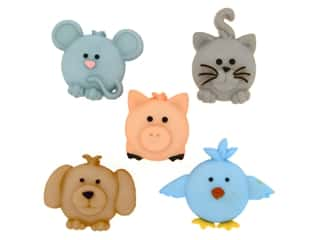 novelties: Jesse James Embellishments - Pudgy Pets