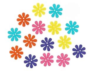 Jesse James Embellishments - Sew Cute Retro Flowers