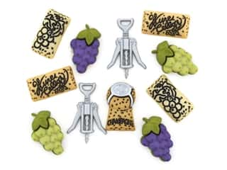 novelties: Jesse James Embellishments - Uncorked