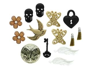 novelties: Jesse James Embellishments - Steampunk