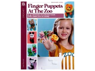 books & patterns: Finger Puppets At The Zoo Book