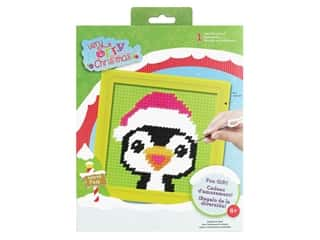 yarn & needlework: Colorbok Sew Cute! Needlepoint Kit - Peppermint