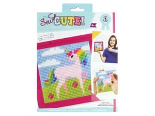 Colorbok Sew Cute! Needlepoint Kit - Unicorn