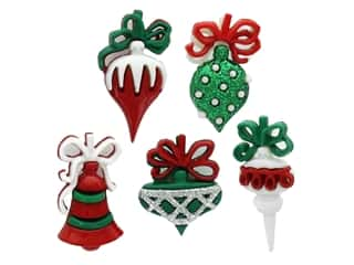 novelties: Jesse James Embellishments - Holiday Christmas Ornaments