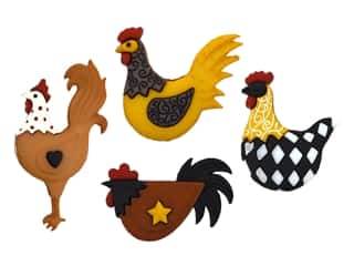 novelties: Jesse James Embellishments - Hen House