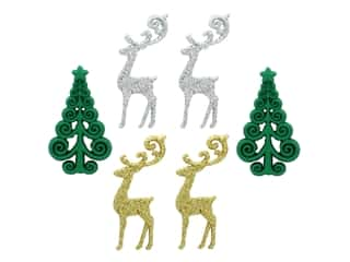 novelties: Jesse James Embellishments - Elegant Reindeer